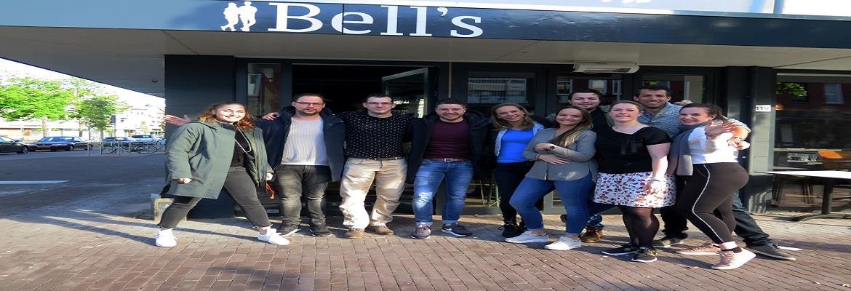 Een mooie beoordeling voor Bell's eten en drinken